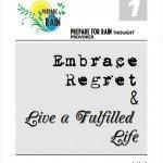 Embrace Regret & Live a Fulfilled Life